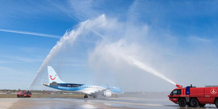Jetairfly Antwerp to Berlin Tegel