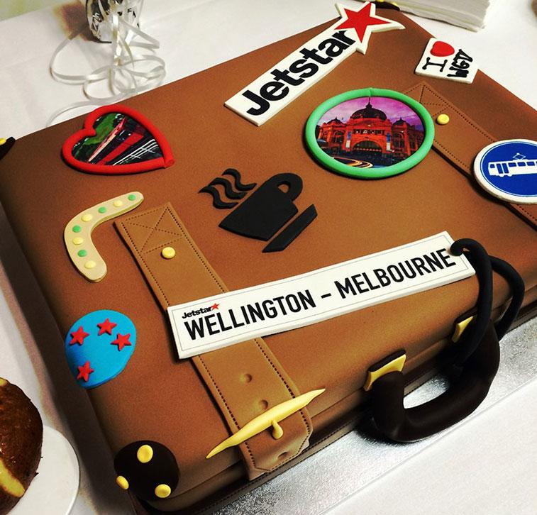Jetstar Airways Melbourne to Wellington