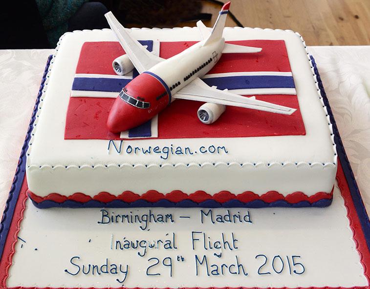 Norwegian Madrid to Birmingham