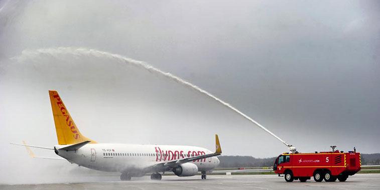 Pegasus Airlines Istanbul Sabiha Gökçen to Lyon