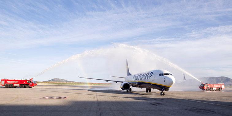 Ryanair Athens to Bratislava, Budapest and Santorini