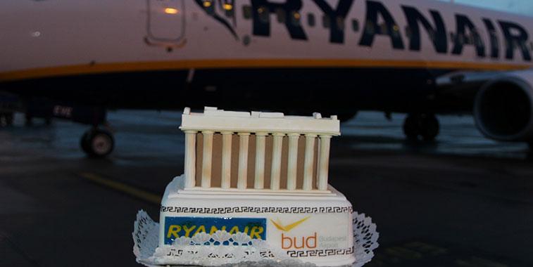 Ryanair-Athens-to-Budapest