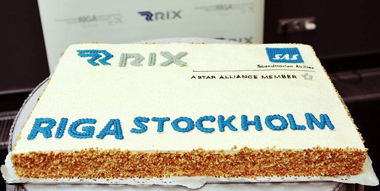 SAS Stockholm Arlanda to Riga
