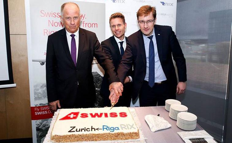 SWISS Zurich to Riga