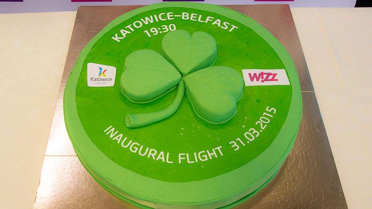 Wizz Air Katowice to Belfast International