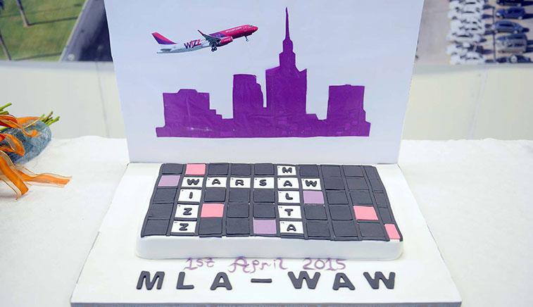 Wizz Air Warsaw Chopin to Malta