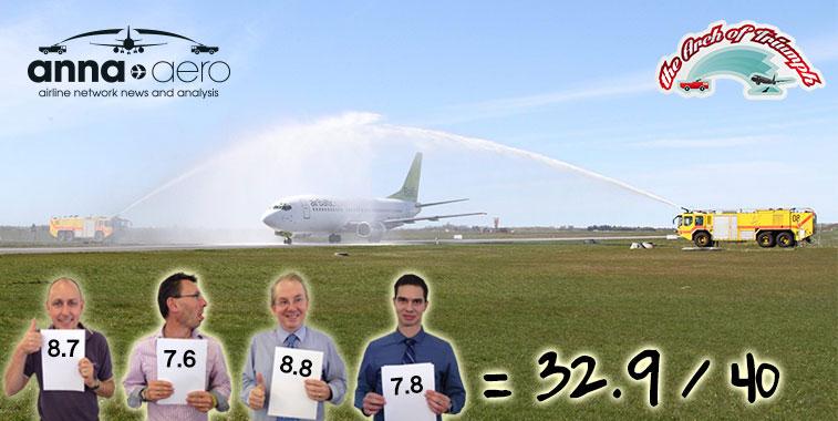 airBaltic Riga to Aalborg