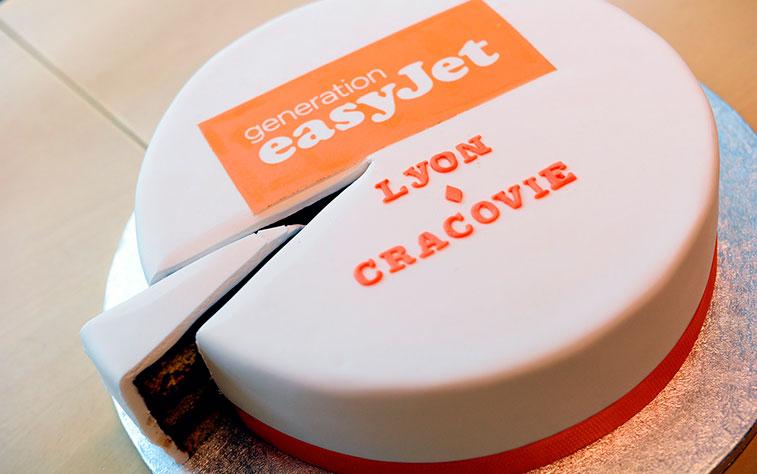 easyJet Lyon to Krakow