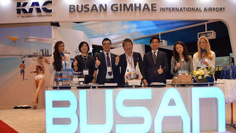 Gimhae International airport Busan