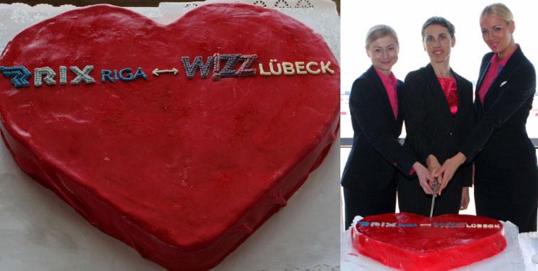 Wizz Riga cake