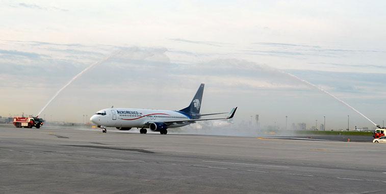 Aeromexico Mexico City to Toronto Pears