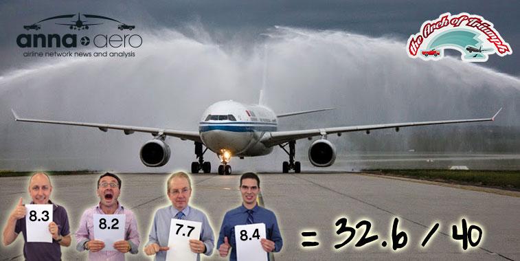 Air China Bejing to Budapest (via Minsk)