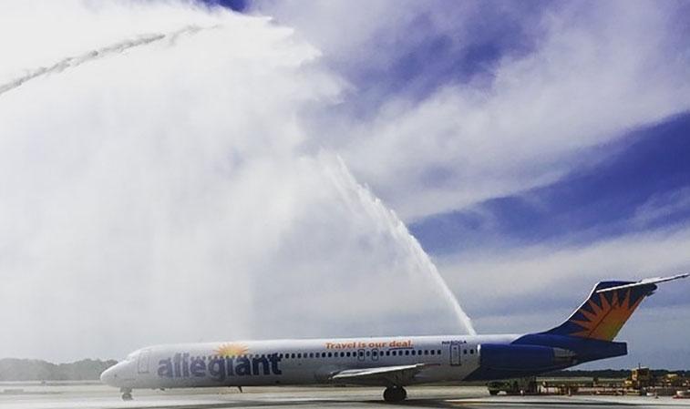 Allegiant Air Memphis to Las Vegas