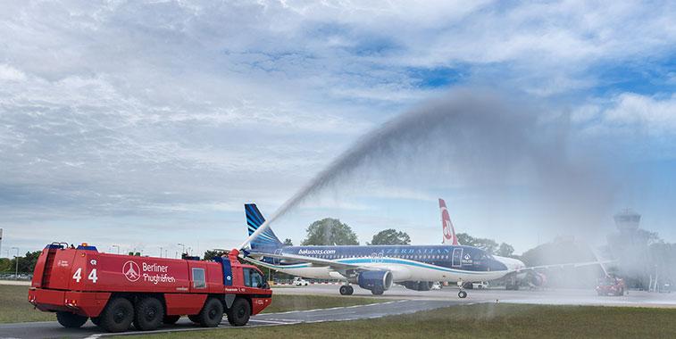 Azerbaijan Airlines Baku to Berlin Tegel