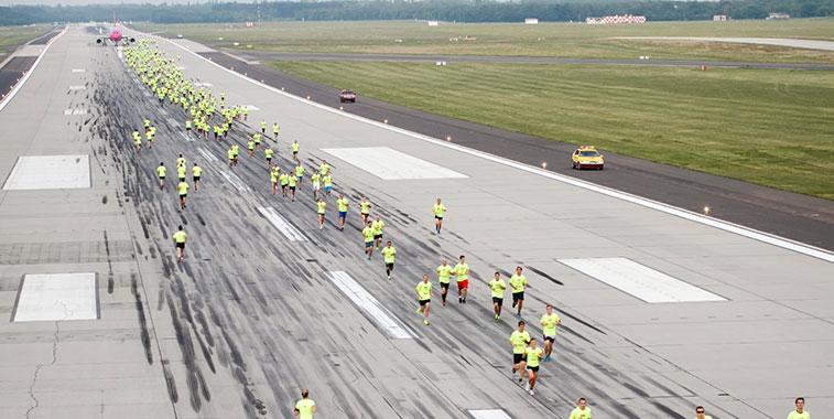 Budapest Airport Runway Run