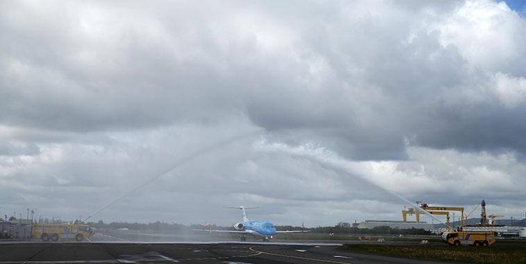 KLM Amsterdam to Belfast City