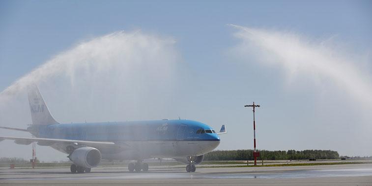 KLM Amsterdam to Edmonton