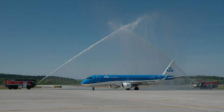 KLM Amsterdam to Krakow