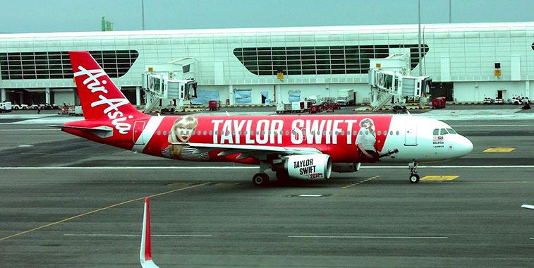 airAsia Taylor Swift