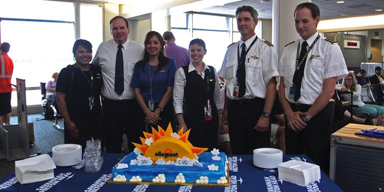 Allegiant Air - Savannah Airport