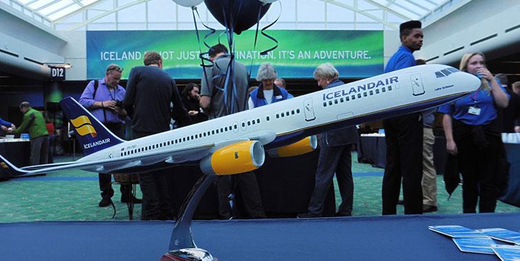 Icelandair media interest