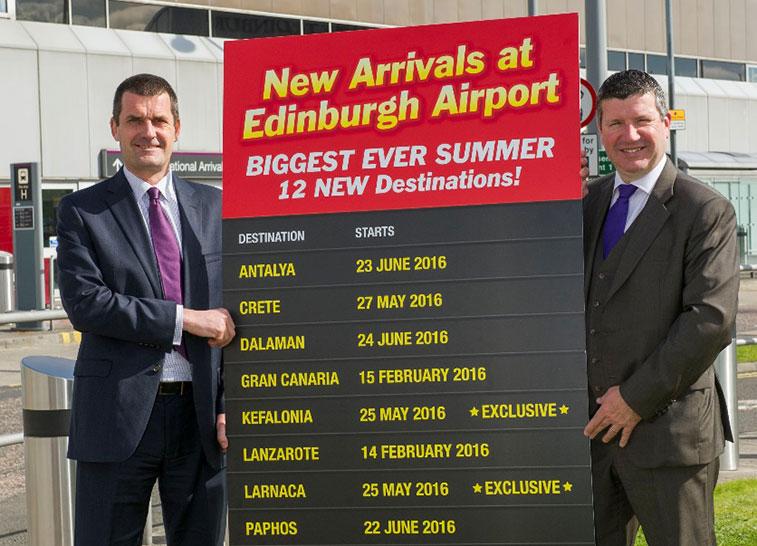 Jet2 Edinburgh