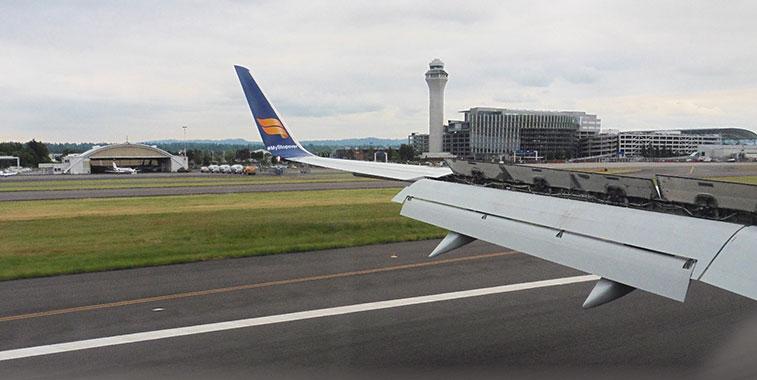 Portland Icelandair arrival