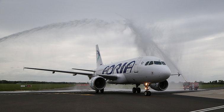 Adria Airways Maribor to London Southend