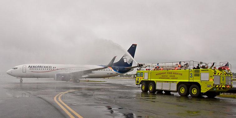 Aeromexico Mexico City to Boston