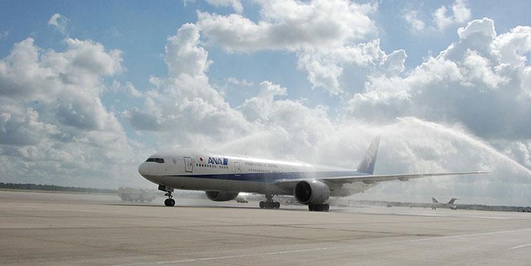 All Nippon Airways Tokyo Narita to Houston Intercontinental