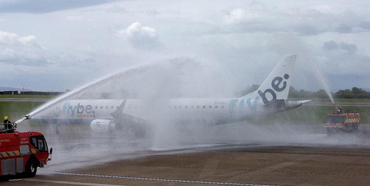 Flybe Cardiff to Paris CDG, Dublin and Edinburgh