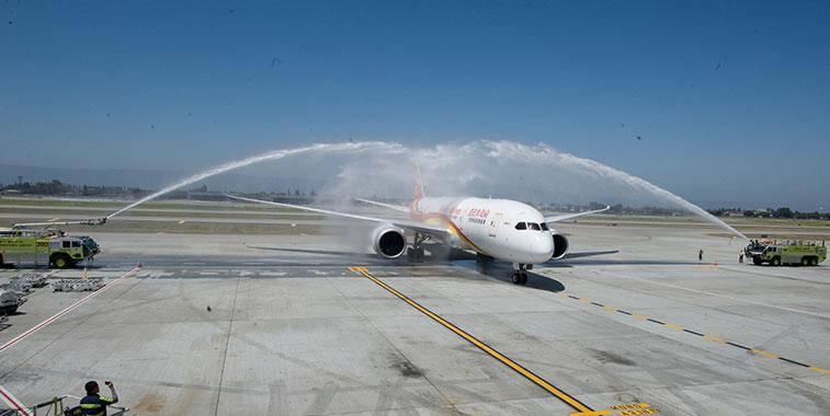 Hainan Airlines Beijing to San Jose