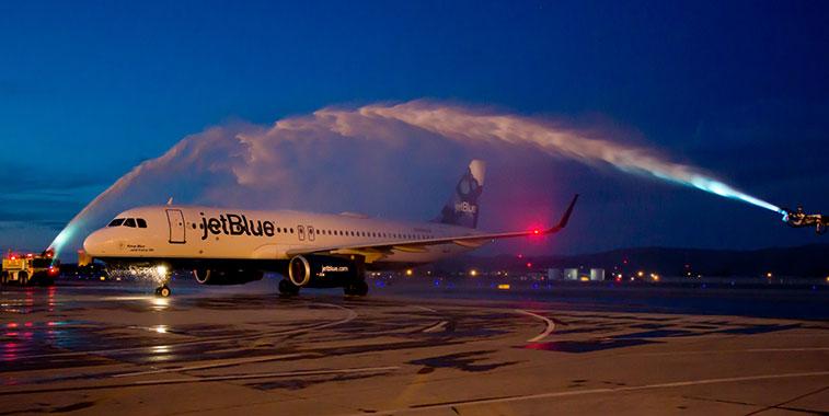 JetBlue Airways New York JFK to Reno