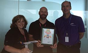 Tulsa Airport receives Cake of the Week award