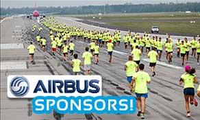 Airbus becomes main sponsor of anna.aero-Budapest Airport Runway Run!