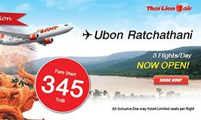 Thai Lion Air extends domestic network