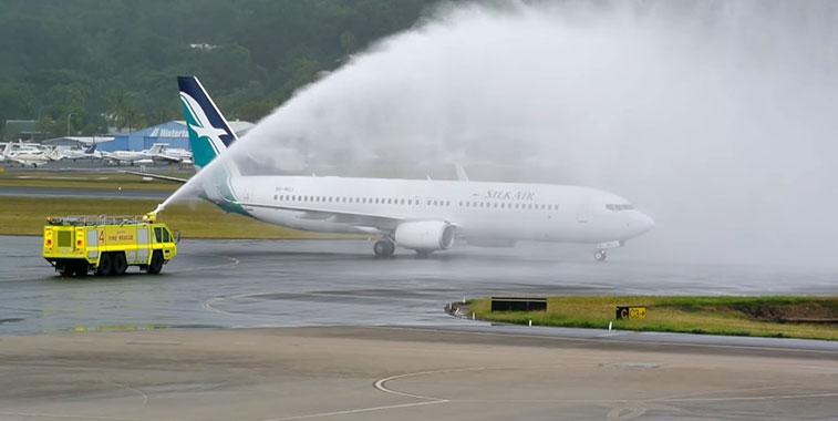 SilkAir Singapore to Cairns