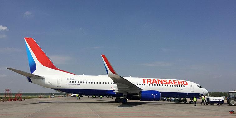 Transaero Airlines Boeing