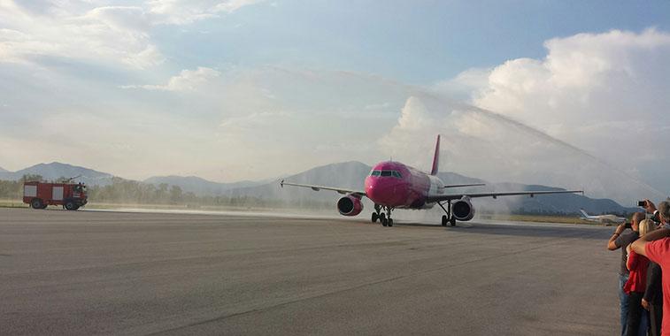 Wizz Air London Luton to Ohrid