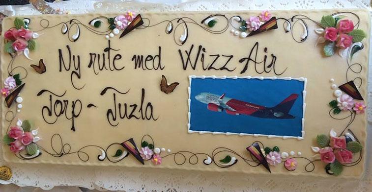 Wizz air cake