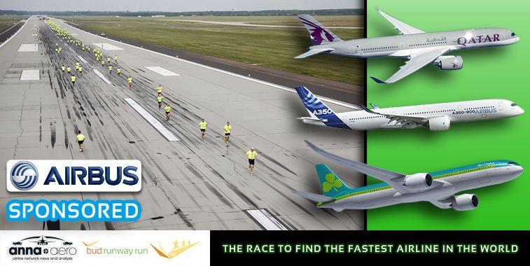 The Airbus-sponsored anna.aero-Budapest Airport Runway Run