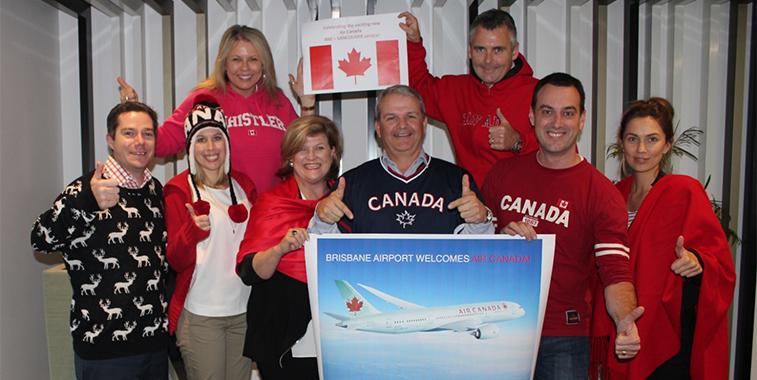Air Canada Brisbane