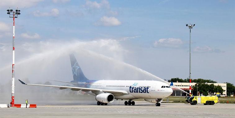 Air Transat Toronto Pearson to Budapest