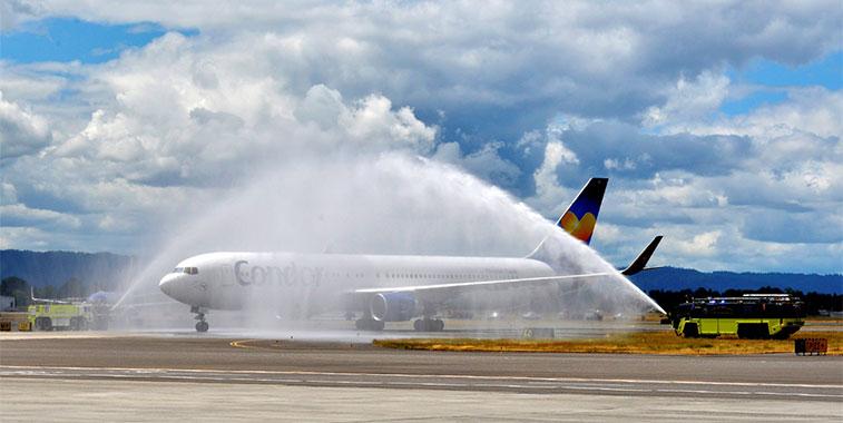 Condor Frankfurt to Portland