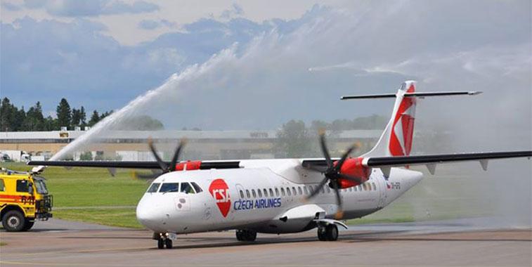 Czech Airlines Prague to Linköping