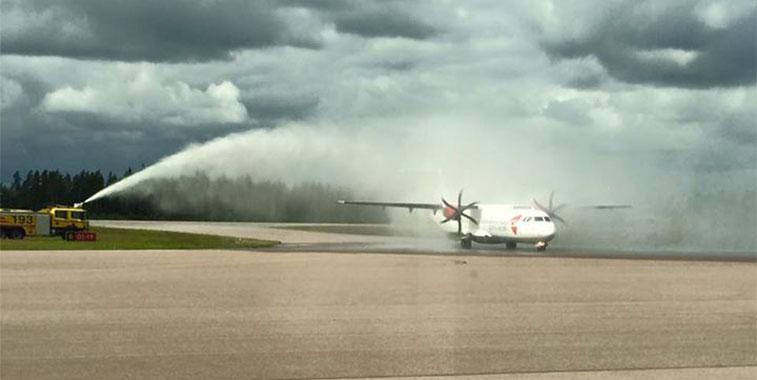 Czech Airlines Prague to Växjö