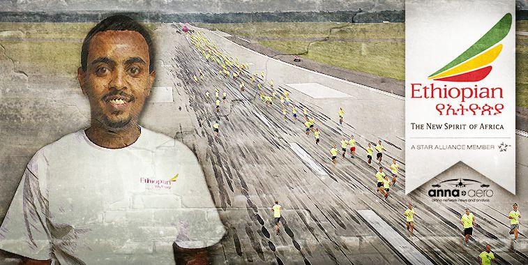 Ethiopian Airlines joins Airbus-sponsored anna.aero-Budapest Airport Runway Run