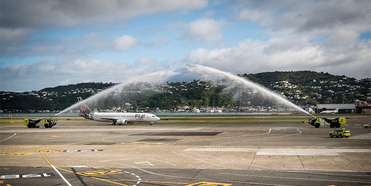 Fiji Airways Nadi to Wellington