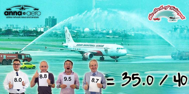 AirAsia Kuala Lumpur to Kaohsiung 16 July