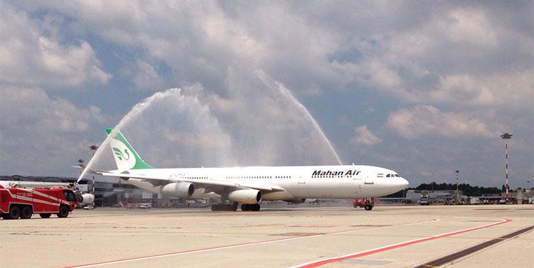 Mahan Air Tehran Imam Khomeini to Milan Malpensa